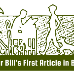 The First Green Bar Bill Article in Boy's Life.
