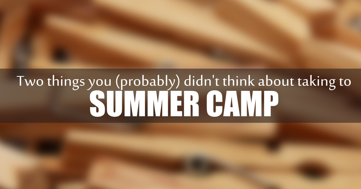 two things summer camp
