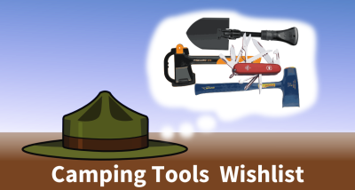 camping tools wishlist