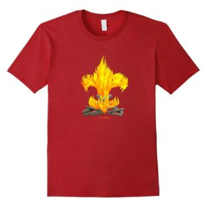 fire tee red